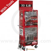 APPHCOMBO1 Sealey Paddy Hopkirk Mini 33EJB Tool Chest and Tools