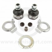 GSJ166OE Genuine Rover branded single hub ball joint set - Mini 1959-2001
