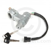 BHM7107 Mini steering lock & ignition switch assembly with 4 pin wiring plug for all models 1976 to 1996
