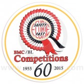 BMC Works 60th Anniversary Limited Edition Decal