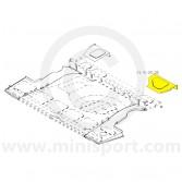 MCR21.41.00.18 RH Boot Floor Front Corner Repair Mini Traveller