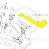 MCR11.41.00.28 OE spec Boot Floor Side Repair Panel - RH - all models
