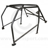 Custom Cages Mini Six Point Bolt-In Mini Roll Cage - Black
