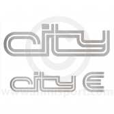 Mini City E Decal Kit - Sides & Boot