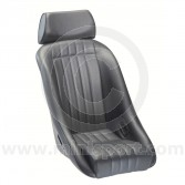 Mini Classic Black Vinyl with Head Rest