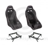 Cobra Clubman Seat Package - Black/Black Centre