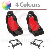 Cobra Clubman Seat Package - Red
