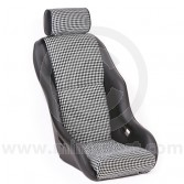 Cobra Classic RSR Mini seat Houndstooth