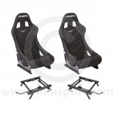 Cobra Monaco Pro Seat Package - Black