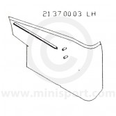 MCR21.37.00.03 Pocket/Companion Box Assembly Traveller - Reproduction - LH