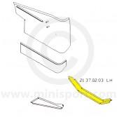 MCR21.37.02.03 LH Companion Box Closing Plate Mini Traveller/Estate