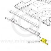MCR21.41.02.18 RH End Repair - Subframe Crossmember - Mini Traveller LH