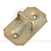 CZH627 Mini door striker plate, loop type, located on B post of all internal hinge type models