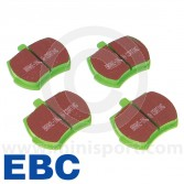 "Brake Pad Set - Mini 8.4"" discs - Greenstuff"