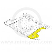 MCR21.41.00.28 RH Boot Floor Side Repair Panel Mini Traveller