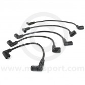 Black - 7mm Silicone Spark Plug Lead Set 81-96