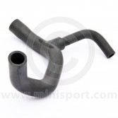 GRH1289 Mini lower radiator hose fitted to models with the single HIF38 SU carburettor, 1991 to 1993