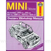 Haynes: Service & Repair Manual '59 to '69