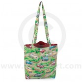Cotton Green Shopper bag with Classic Mini design