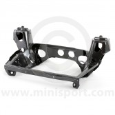 HMP241004 Genuine Mini front subframe for '90-'96 1275 models with manual gearbox, complete with rebound buffers