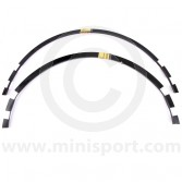 "HMP441029 Front wheel arch reinforcement lips required for Mini Sportspack wheel arch fitment and 13"" wheels."