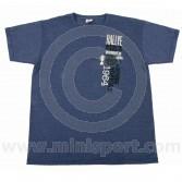 Paddy Hopkirk Monte Carlo Celebration T Shirt in Heather Navy