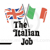 Italian Job Decal Kit - - for White Minis
