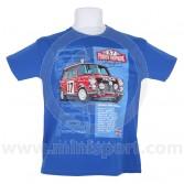 Paddy Hopkirk 33 EJB T Shirt - Blue Child Large