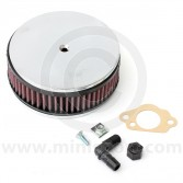 K&N Pancake Air Filter - HS2 SU Carb - 850cc