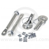 Quick Release Bonnet Pins - Stainless Steel