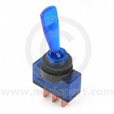Illuminated Toggle Switches - Blue