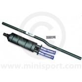 "LS001BTTP Maniflow 1 3/4"" 1 Box Centre Exit Twin Tailpipes Mini System"