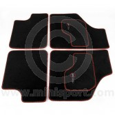 Cooper Mini Luxury Car Mat Set