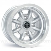 Minator 6'' x 10'' Alloy Wheel - Silver