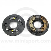 ms2693 mini front drum brake assembly - pair 1959-1984