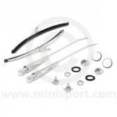 Stainless Wiper Kit - RHD