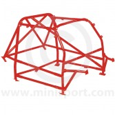 RBN046 Mini Multipoint Bolt-in Roll Cage - Red