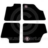 Paddy Hopkirk Mini Floor Mat Set in Black