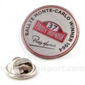 Paddy Hopkirk Monte Carlo Lapel Badge