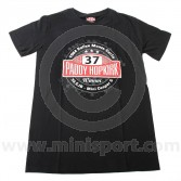 Paddy Hopkirk Collection Rallye Monte Carlo Roundel Logo T Shirt - Small