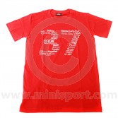 Paddy Hopkirk 37 Red T Shirt - Small