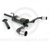 Sportex Dual Exit Exhaust System - 3'' Tailpipes - Catalyst back