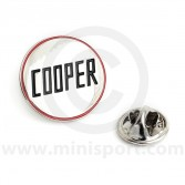 Cooper Pin Badge