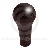 Mini Wooden Gearknob finished in Charcoal