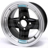 REVRVA908H41367BHRR Mini Revolution Black 7'' x 13'' 4 Spoke Deep Dish Split Style Alloy Wheel