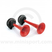 RINRAH122 Powerful twin air horn kit, everything you need to fit to your Mini.