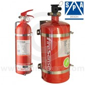 4.0 Ltr Steel Electrical + 2.4 Ltr Hand Held Extinguisher Kit