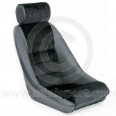 Mini Cobra Classic RS seat in Black with Corduroy centre