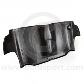 Carbon Fibre Rear Seat Bulkhead Panel - Weave