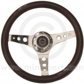 Wood Sport Steering Wheel - 340mm Spring Alex